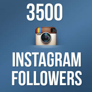 3500 Instagram Followers only from BuySellShoutouts.com