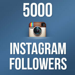 5000 Instagram Followers to make you famous