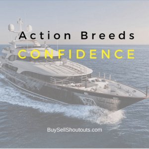 Use Instagram Influencer Shoutouts today because Action Breeds Confidence