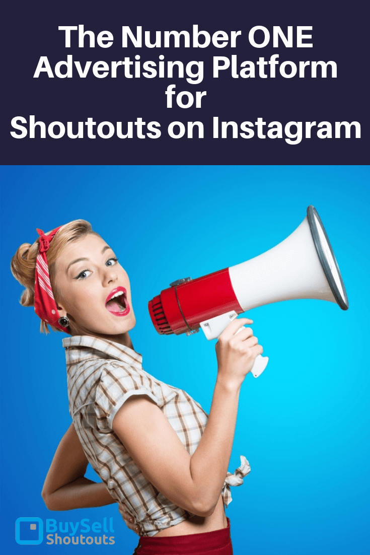 The Number ONE Advertising Platform for Shoutouts Instagram