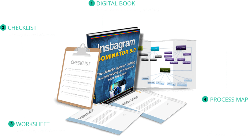 Instagram Dominator 5.0 - The Ultimate Guide to building and marketing your business with Instagram – Click here to download