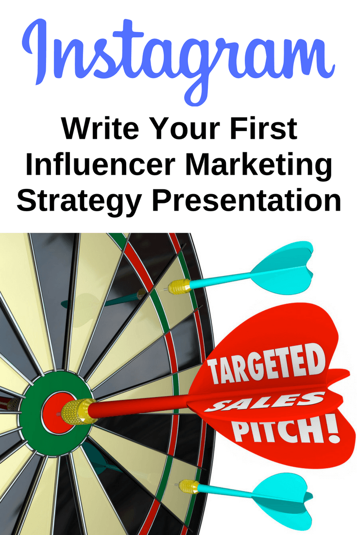 Write Your First Influencer Marketing Strategy Presentation