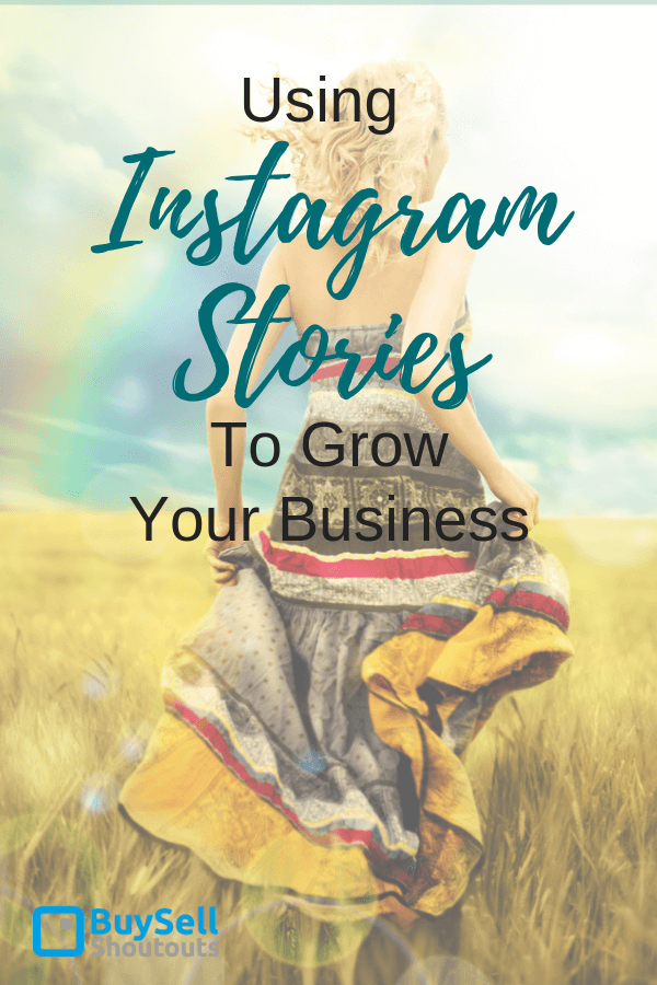 Using Instagram stories to grow your business