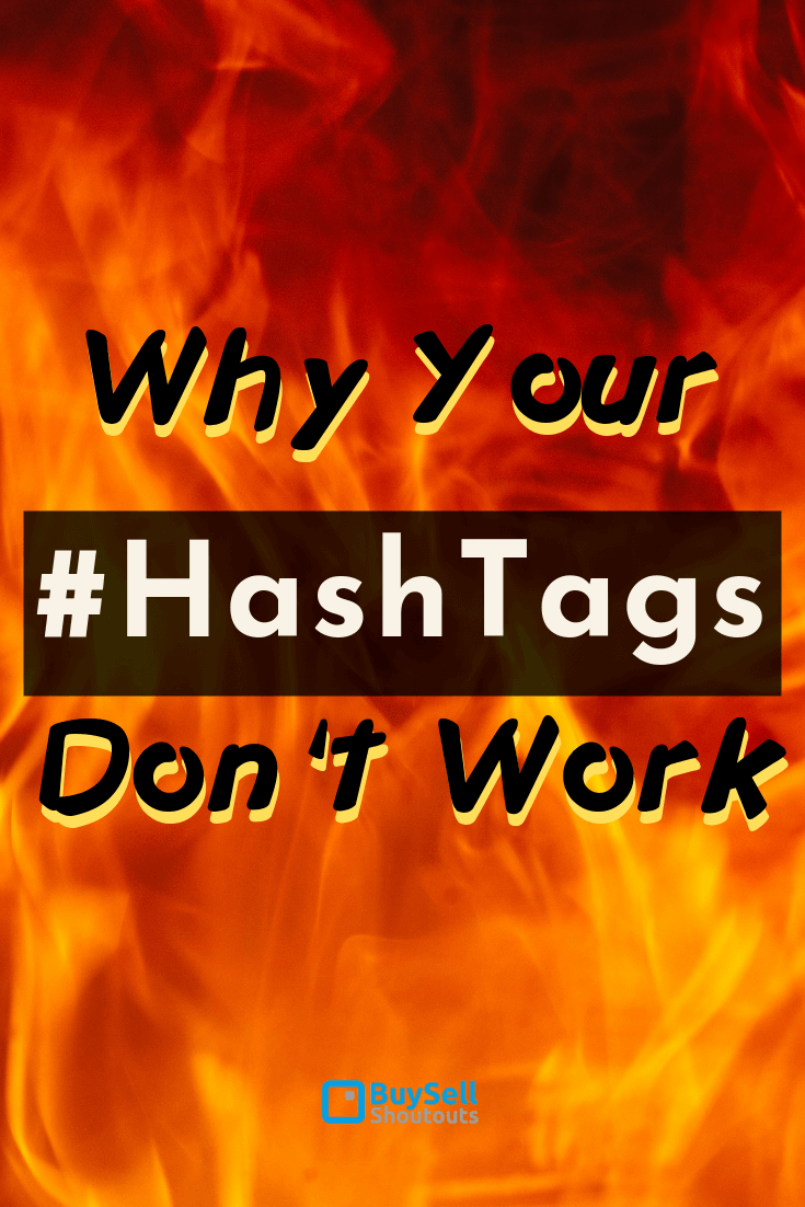 Why your Hashtags don't work anymore