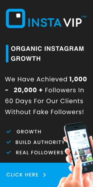 InstaVIP Organic Growth Sidebar Graphic