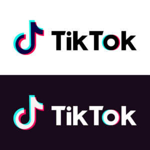 Buy TikTok Followers - Tik Tok logo black and white mode