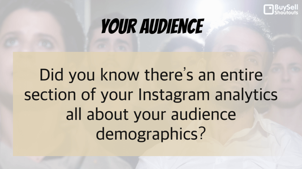 Why Instagram Analytics Matter - Your Audience