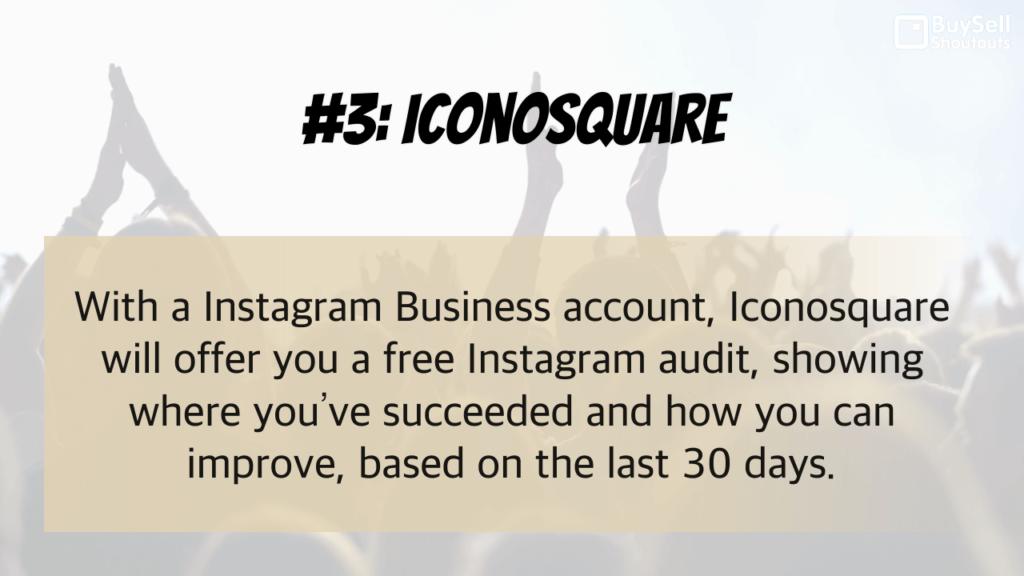Why Instagram Analytics Matter - #3 Iconosquare