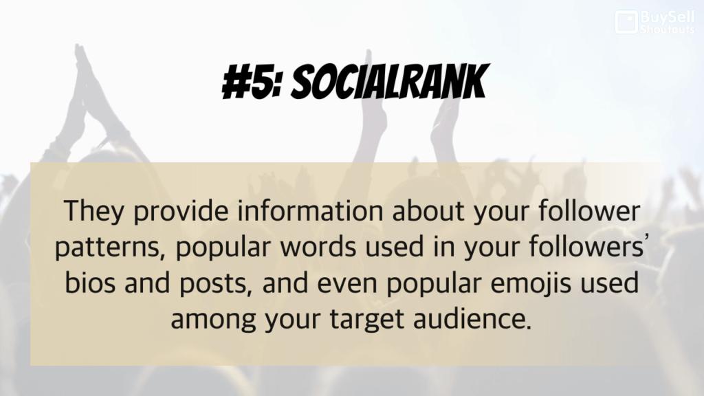 Why Instagram Analytics Matter - #5 Social Rank