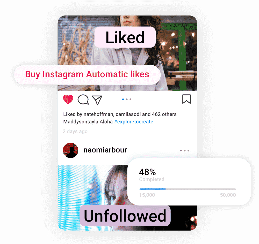 an image of a profile that recently purchased automatic instagram likes from buysellshoutouts.com