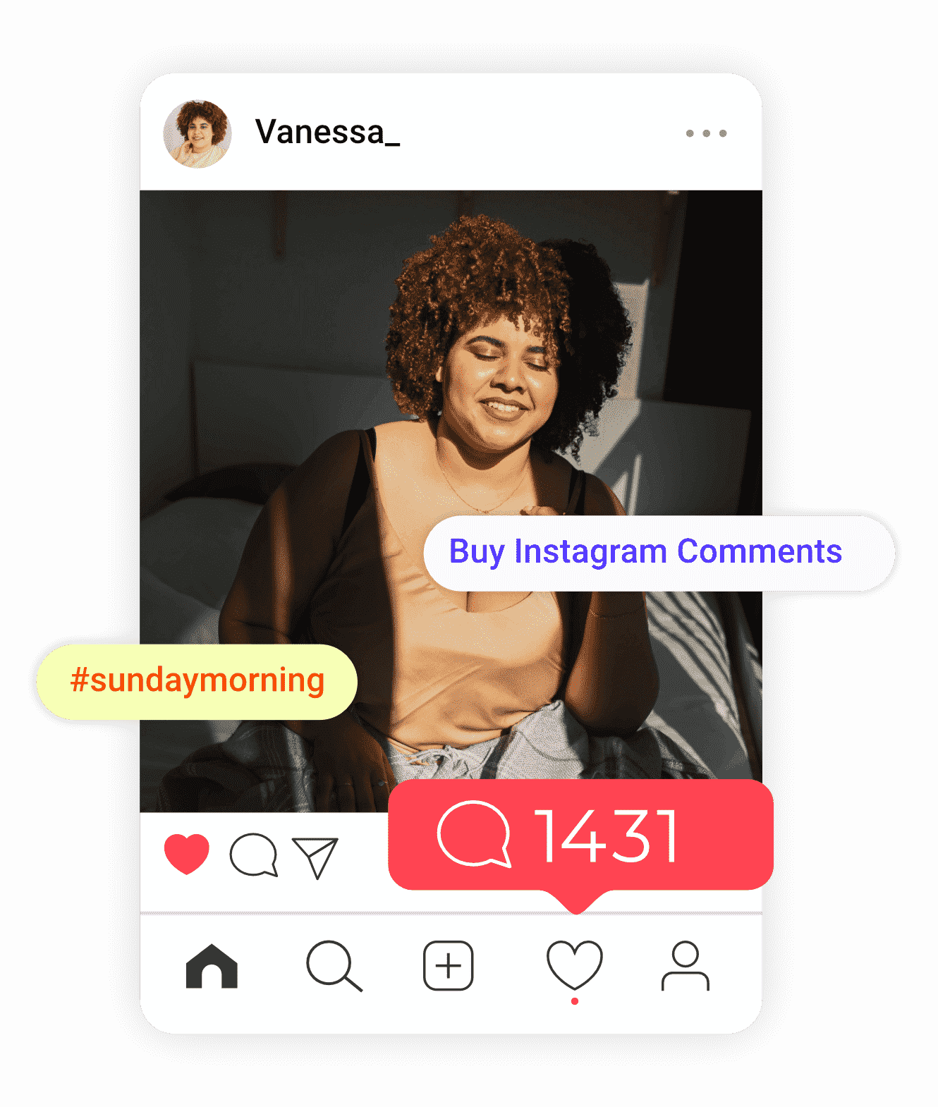 image of instagram comments sold by buysellshoutouts.com